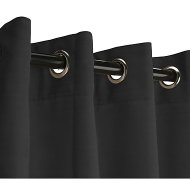 RoomDividersNow Small B Hanging Rod Room Divider Kit, Black