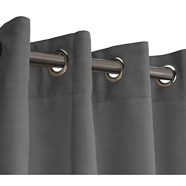 RoomDividersNow 9' x 15' Fabric Room Divider Curtain, Gray