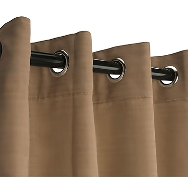 RoomDividersNow Large B Hanging Rod Room Divider Kit, Khaki