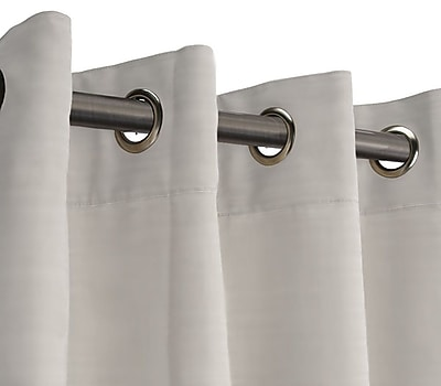 RoomDividersNow XXL B Hanging Rod Room Divider Kit, Ivory