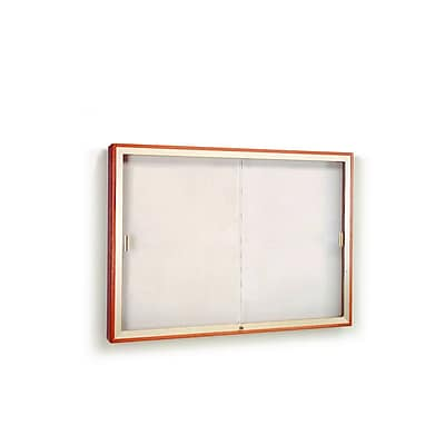 Waddell Plaque & Aluminum Display Case, 36