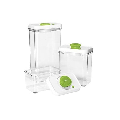 Conair® Cuisinart® 6 Piece Food Storage Containers, Green/Clear