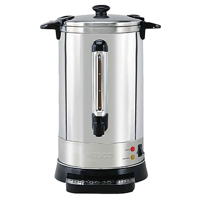 Nesco 50 Cup Double Wall Coffee Urn With Locking Lid IM1VV3554