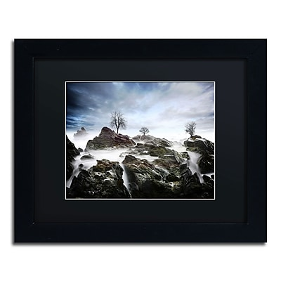 "Trademark Philippe Sainte-Laudy ""And Then.."" Art, Black Matte With Black Frame, 11"" x 14"""
