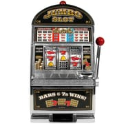 Trademark Poker™ Jumbo Slot Machine Bank Replication