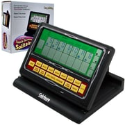 Trademark Poker™ Touchscreen 2-in-1 Portable Solitaire Video Game, Black