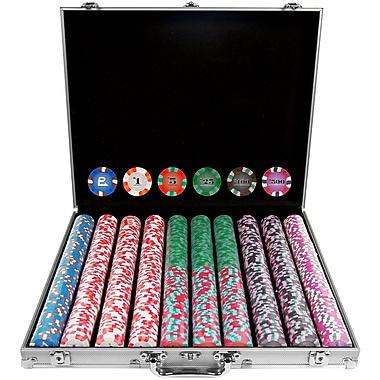 Trademark NexGen™ 9g Pro Classic Style 1000 Chips Poker Set With Aluminum Case