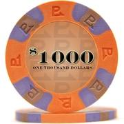Trademark NexGen™ 9g Pro Classic Style $1000 Poker Chips, Orange, 50/Set