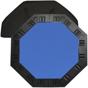 "Trademark Poker™ 48"" 8-Player Octagonal Table Top, Blue"