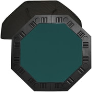 "Trademark Poker™ 48"" 8-Player Octagonal Table Top, Dark Green"