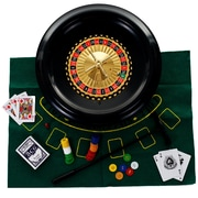 "Trademark Poker™ 16"" Roulette Set With Accessories"