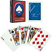 Trademark Poker Premium Poker Size Playing Cards, Blue (844296037636)