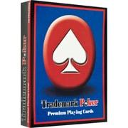 Trademark Poker™ Premium Poker Size Playing Cards, Red