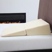 Trademark Remedy Natural Pedic Folding Wedge Memory Foam Pillow