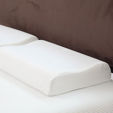 Trademark Remedy Contour Comfort Gel Memory Foam Pillow
