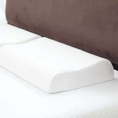 Trademark Remedy Large Contour Memory Foam Pillow With Cover