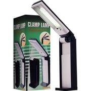 Trademark 13W Table Top Foldable Desk Lamp, Black/White