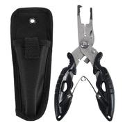 "Trademark Gone Fishing™ Titanized Fisherman Pliers With Braid Cutter, 1/2"" x 4 7/8"" x 2 1/2"""