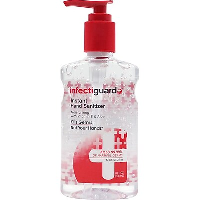 Trademark Infectiguard® Instant Hand Sanitizer Pump, 8 Oz.