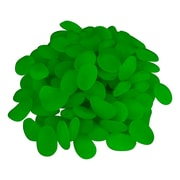 Trademark 100 Piece Glow In The Dark Pebbles For Walkways and Decor