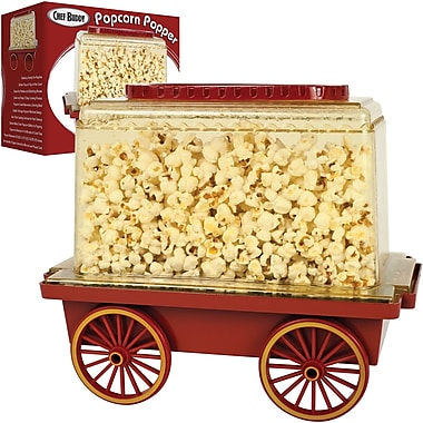 Trademark Chef Buddy™ 3-Step Popcorn Popper