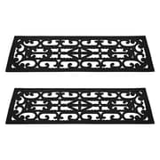 Trademark Pure Garden™ Non-Slip Stair Tread Mats Set, Black
