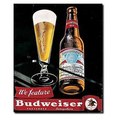 Trademark Budweiser Vintage Ad