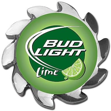 Trademark Bud Light® Lime Spinner Card Cover, Silver