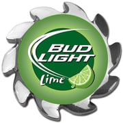 Trademark Bud Light® Lime Spinner Card Cover, Silver