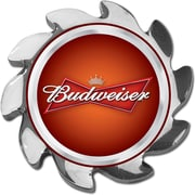 Trademark Budweiser® Spinner Card Cover, Silver