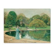 "Trademark Childe Hassam ""Central Park"" Gallery-Wrapped Canvas Art, 35"" x 47"""
