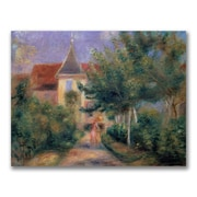 "Trademark Pierre Renoir ""Renior""s House at Essoyes"" Gallery-Wrapped Canvas Art, 18"" x 24"""