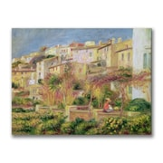 "Trademark Pierre Renoir ""Terrace in Cagnes"" Gallery-Wrapped Canvas Art, 26"" x 32"""