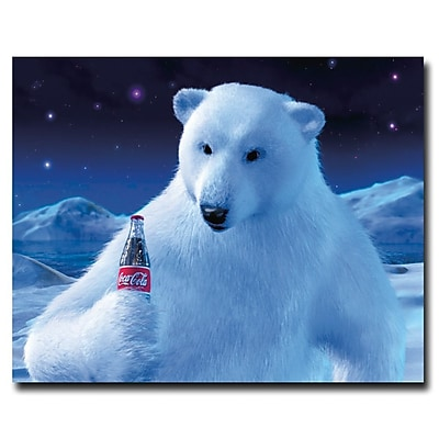Trademark Coke Vintage Ad