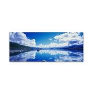 "Trademark David Evans ""Lake Tekapo Reflections-NZ"" Gallery-Wrapped Canvas Art, 16"" x 47"""