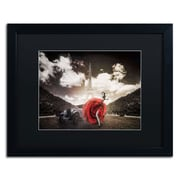 "Trademark Erik Brede ""Tango in Paris"" Art, Black Matte W/Black Frame, 16"" x 20"""