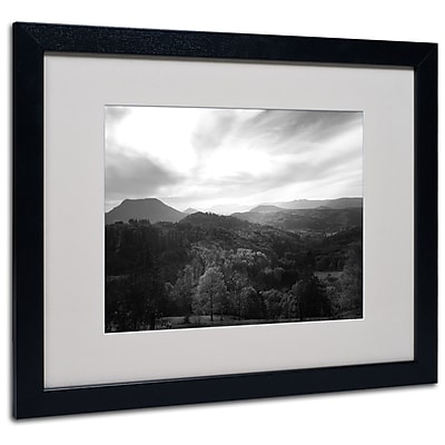 """Trademark Philippe Sainte-Laudy """"Over the Lighting"""" Art, White Matte With Black Frame, 16"""" x 20"""""""
