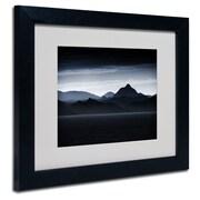 "Trademark Philippe Sainte-Laudy ""Beautiful Goodbye"" Art, White Matte With Black Frame, 11"" x 14"""