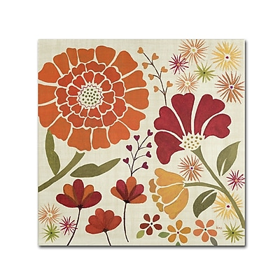 "Trademark Veronique Charron ""Spice Garden II"" Gallery-Wrapped Canvas Art, 35"" x 35"""