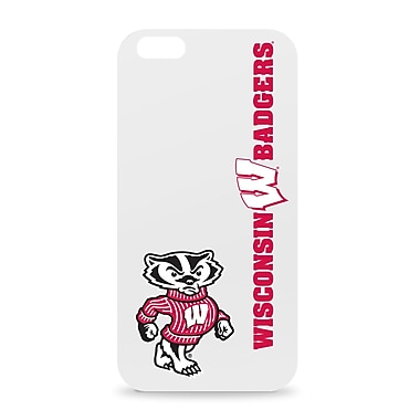 Centon iPhone 6 IPH6CV1WG-WIS White Glossy Classic Case, Wisconsin Badgers