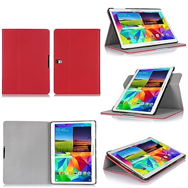 GearIT Galaxy Tab S 8.4 360 SPINNER Folio Case Cover, Red