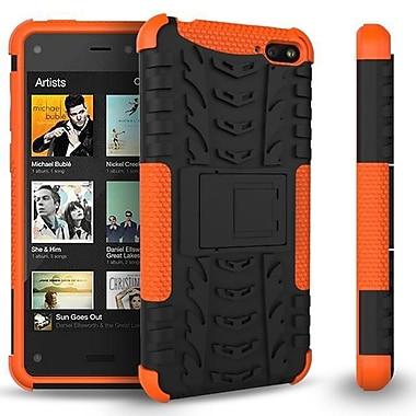 GearIT Fire Phone Hybrid Rugged Stand Case, Orange