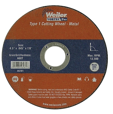 WEILER Cut-Off Wheel
