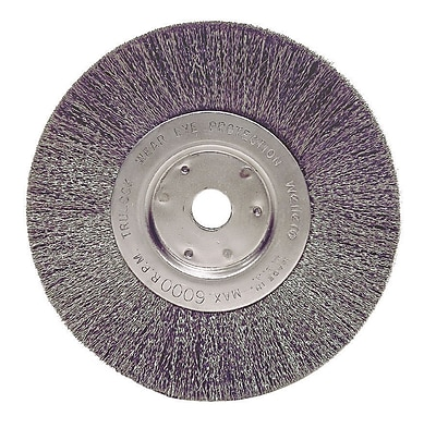 """""WEILER 6"""""""" Narrow Crimped Wire Wheel"""""" 1455934"