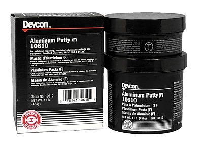 DEVCON Aluminium-Filled Epoxy Putty F