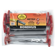 BONDHUS T-Handle Hex Key Sets