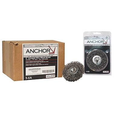 ANCHOR BRAND Crimped Wheel Brushes