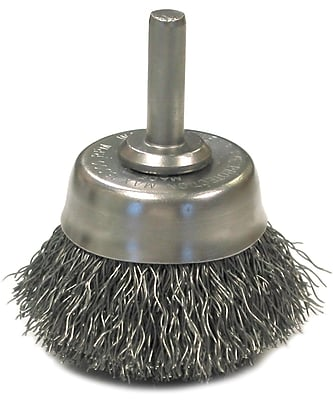 ANDERSON BRUSH Crimped Wire Cup Brushes 1452533
