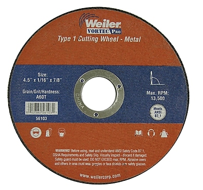 WEILER Thin Cutting Wheels