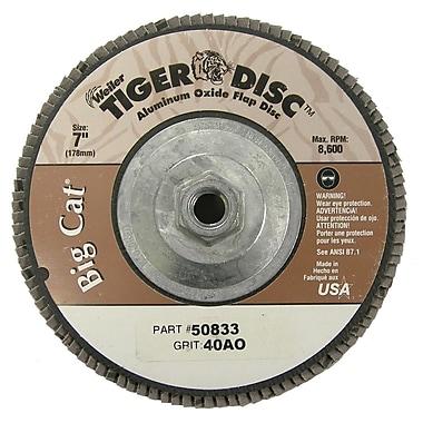 WEILER High Density Flat Style Flap Disc